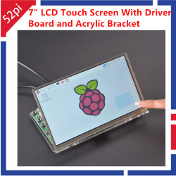 "7"" inch LCD Touch Screen..."