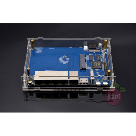 Hot Sales ABS Black Case Enclosure Shell Box for Raspberry Pi 2/3/Model B+