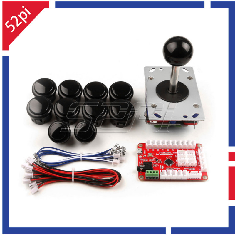 Arcade Game DIY Parts Kit for PC & Raspberry Pi 3 RetroPie & Mame Jamma &  Other Fighting Games