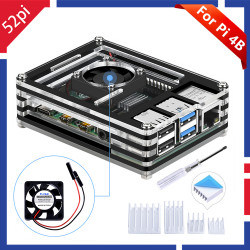 52Pi Acrylic Transparent /...